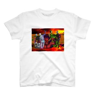 瞼 T-shirts