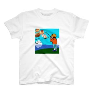 スイーツやまびこ T-shirts