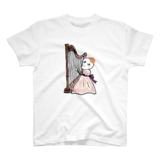3738go ハープ T-shirts