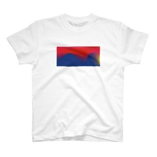イカしたグラデ T-shirts