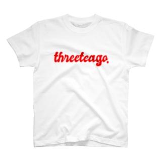 THREE TEA GO.  T-shirts