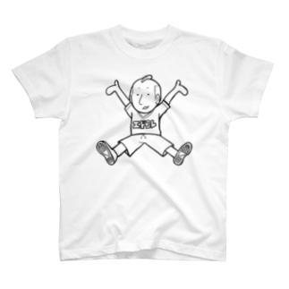 Edocolle Boy(Black Line) T-shirts