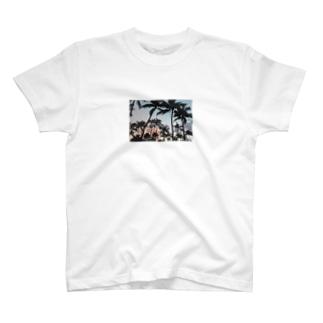マイアミサンセット T-shirts
