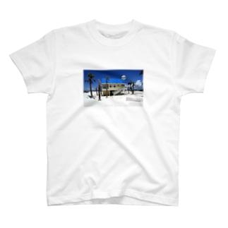 蒼い T-shirts