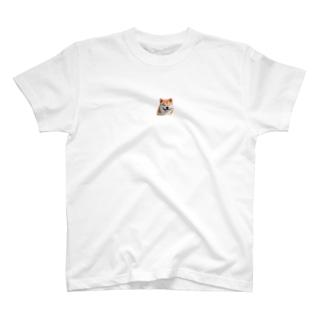 柴犬ハチスマイル T-shirts