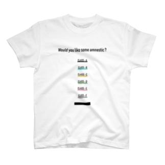 記憶処理取り扱いガイド T-shirts