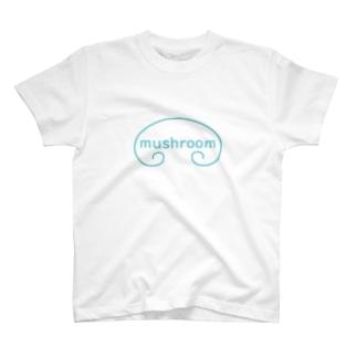 mushroom BIGロゴ T-shirts