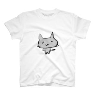 しょぼねこ(くろ) T-shirts