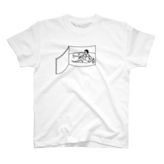中の人 Tシャツ T-shirts