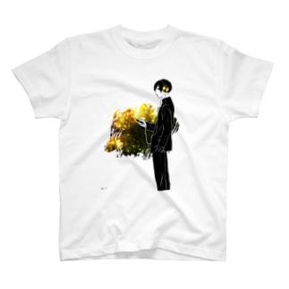 あの子を待つ、帰り道 T-shirts