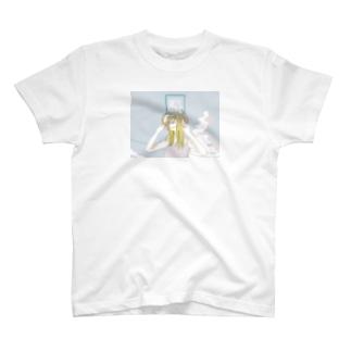 染まる夏 T-shirts