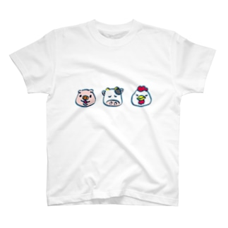 牛豚鶏 T-shirts