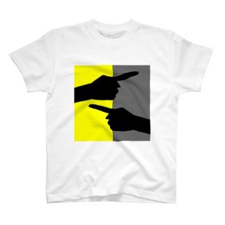ヒューマン・フィンガー T-shirts