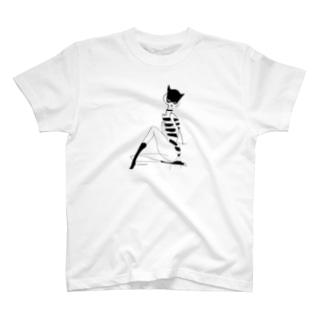 CAT MASK T-shirts