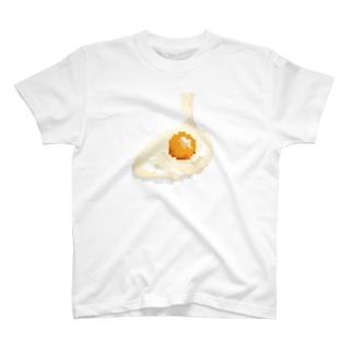 割りたて生卵Tシャツ T-shirts