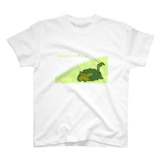 迷彩ねこ T-shirts