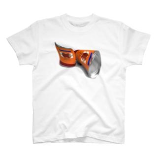 お肉缶 T-shirts