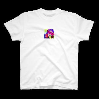 317_mのyellow T-shirts