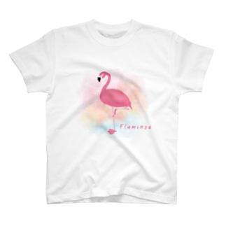 フラミンゴ T-shirts