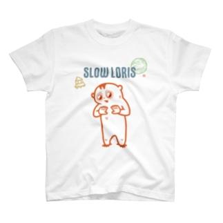 スローロリス T-shirts