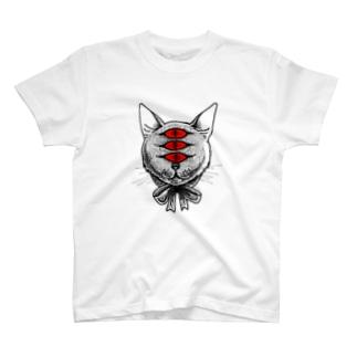 にゃんにゃん T-shirts