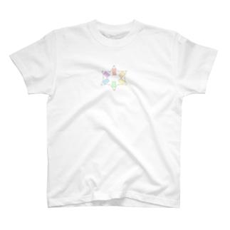 いろいろ T-shirts