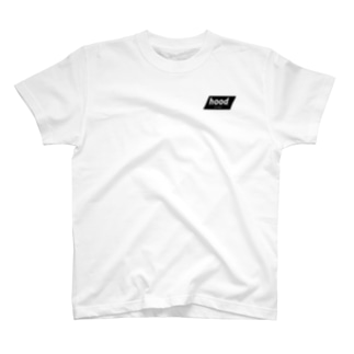 hood ・ ロゴTシャツ T-shirts