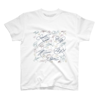 サイン厨風 T-shirts