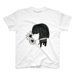 首の純情 T-shirts