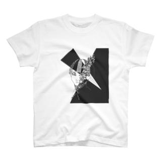 花草に呑まれる T-shirts