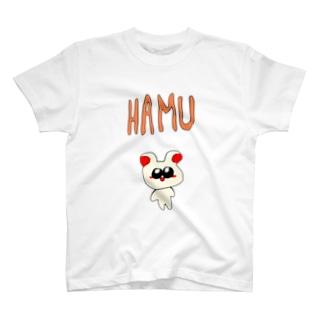 ハムちゃんず(ハム) T-shirts