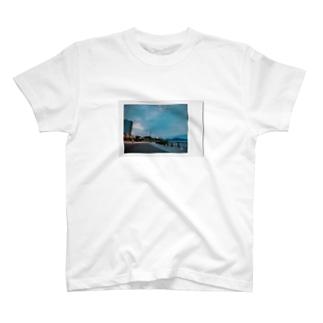 夕方の汐入 T-shirts
