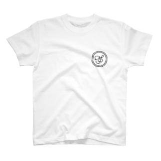 Saltydog Inc.のSaltydog Inc.ロゴ前と後 T-shirts
