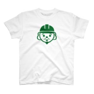 「施工の神様」ビッグプリントロゴ T-shirts