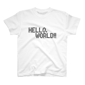 HELLO, WORLD!! ―ver.white― T-shirts
