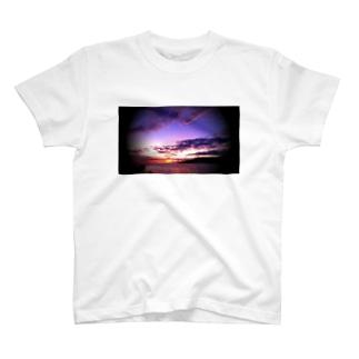 マウイ島日没 T-shirts