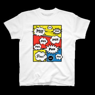 wlmのCLAIM PON T-shirts