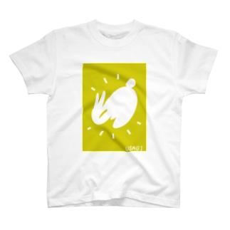 ジャンプウサギ T-shirts
