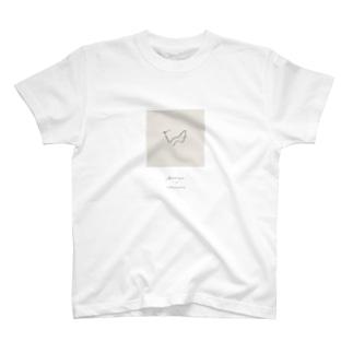 [ バイ・マイ・サイ ] square T-shirts