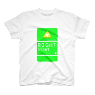RIGHT T-shirts