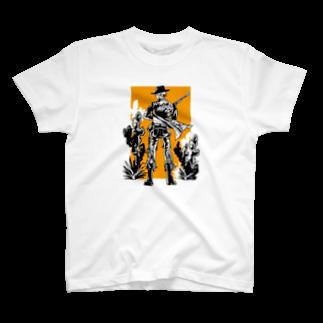 Hiroya_artsの荒野BOY T-shirts