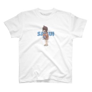 寒いと思うから寒い T-shirts