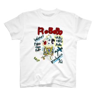 ROBOBO🤖 「たるたるロボ」 T-shirts