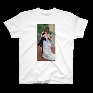 Art Baseの都会のダンス / ルノワール T-shirts