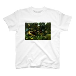 夢 / アンリ・ルソー(The Dream 1910) T-shirts
