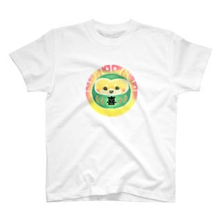 だるま犬・柴犬 T-shirts