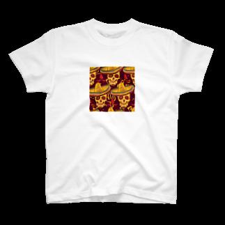 IZANAGIのメキシカンなドクロ~ T-shirts