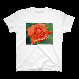 mk-paletの私は薔薇のように美しい。 T-shirts