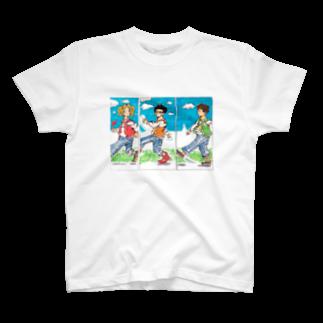 星の競歩ちゃう、ウォーキングや。 T-shirts
