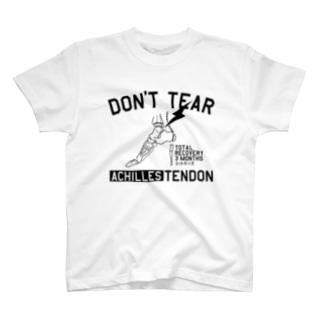 アキレス腱断裂 T-shirts